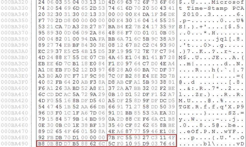 「pkeyhelper.dll」改ざんされたDLLファイル